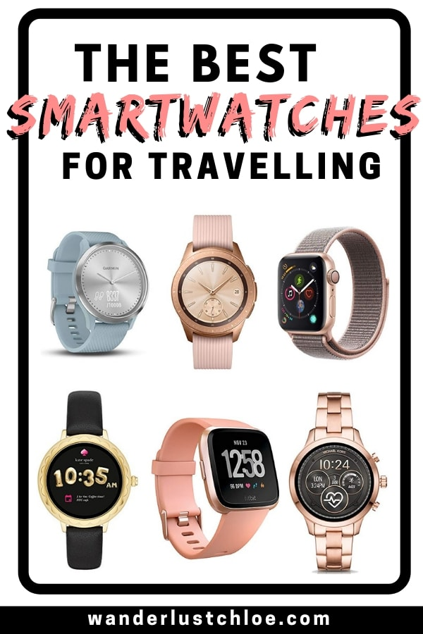 The best smartwatches for travelling