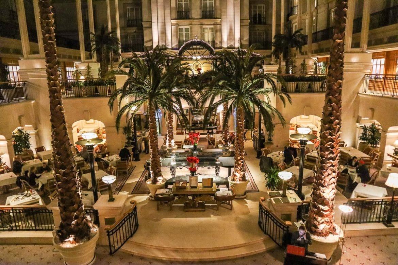 Review winter garden restaurant at the landmark hotel london - Best restaurants in winter garden ...