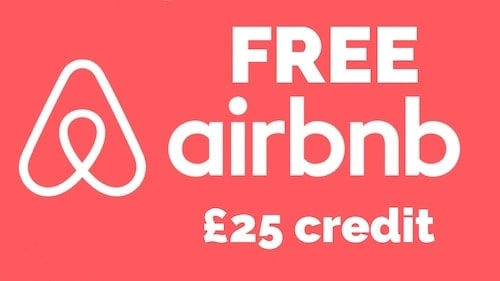 Airbnb £25 credit