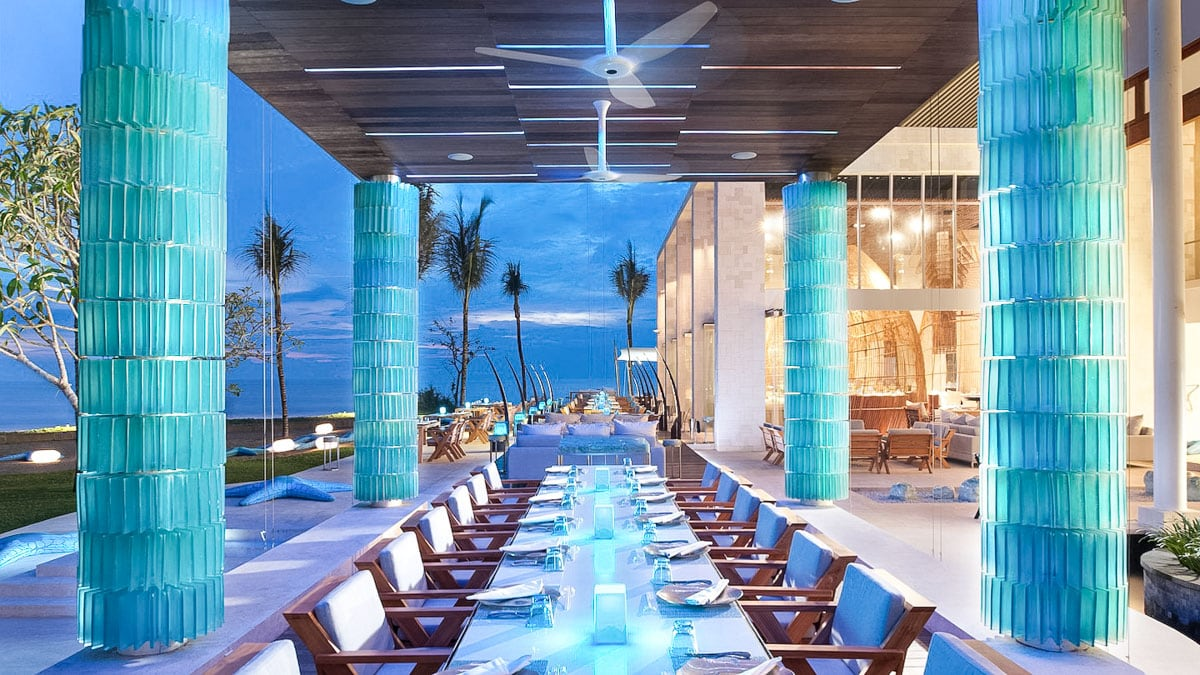 W Hotel, Bali - one of the best honeymoon hotels in Bali