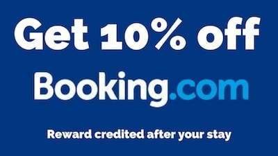Booking.com 10% discount
