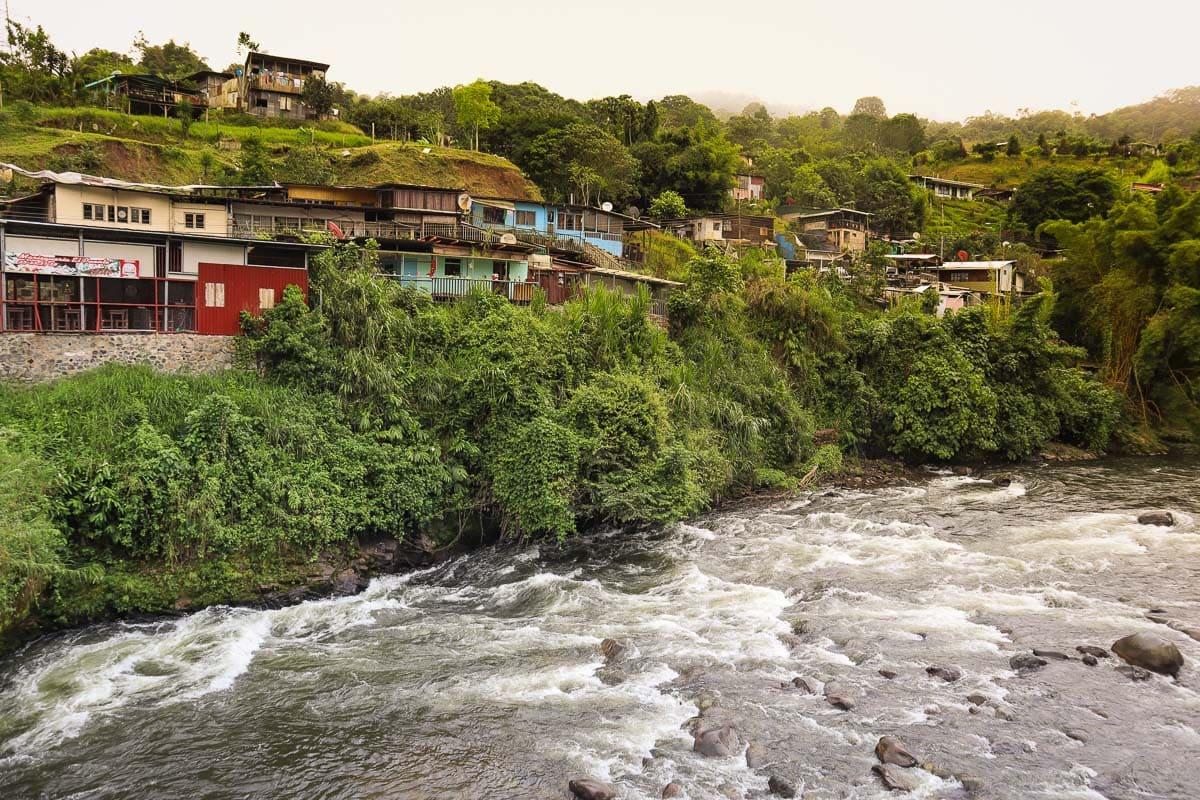 The river in Orosi