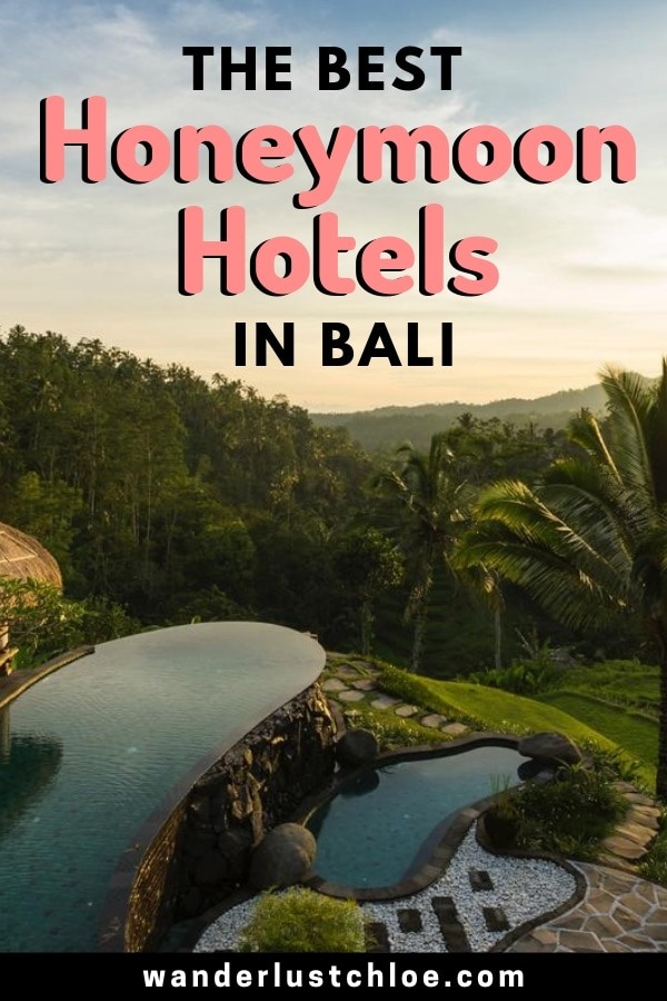 The Best Honeymoon Hotels In Bali