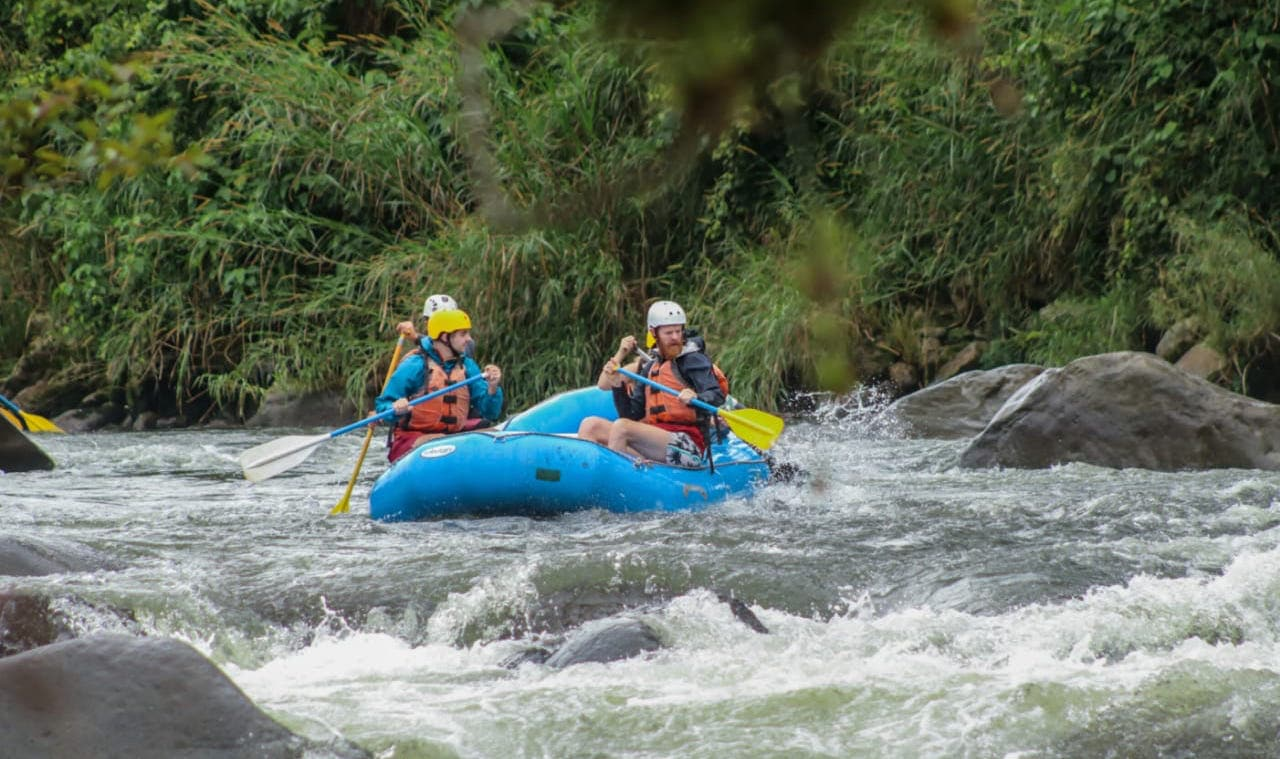 White Water Rafting in Orosi, Costa Rica