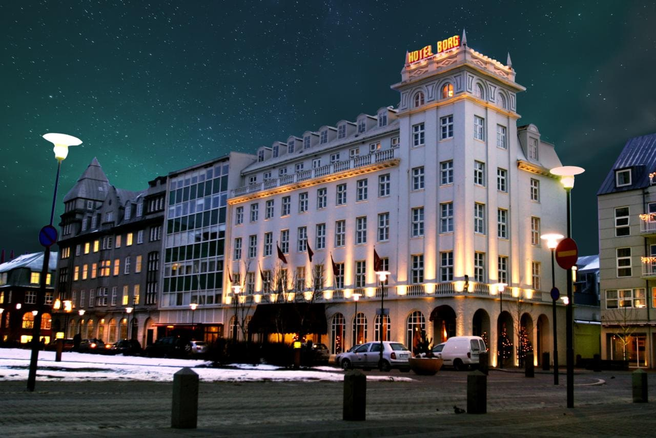Hotel Borg - one of the most unique hotels in Iceland
