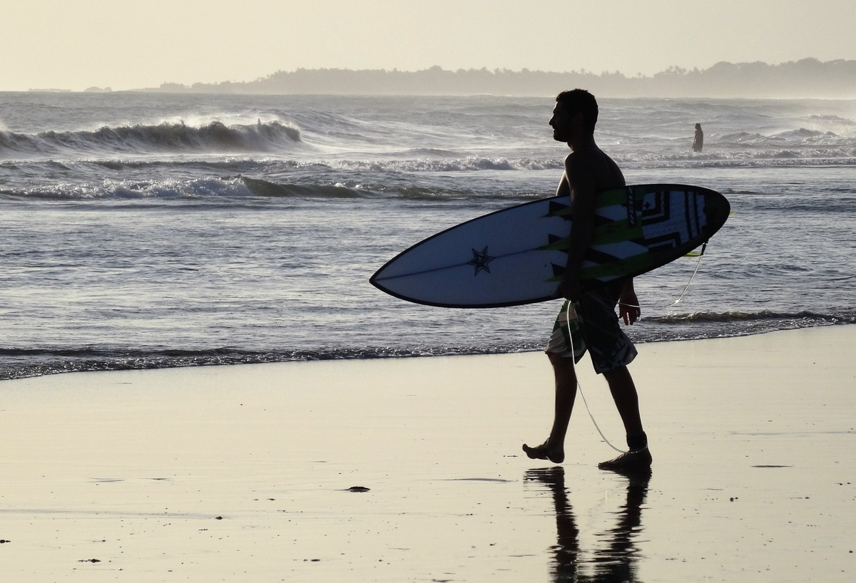 Surfing - one of the top things to do in Canggu