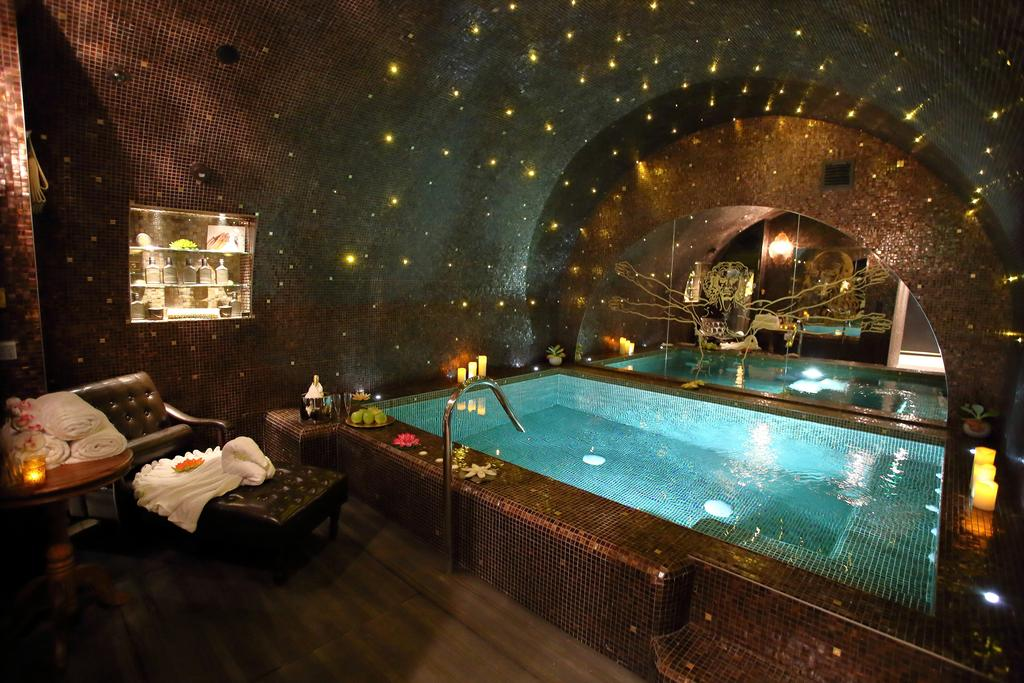 The unique spa at Hotel Da Vinci, Paris