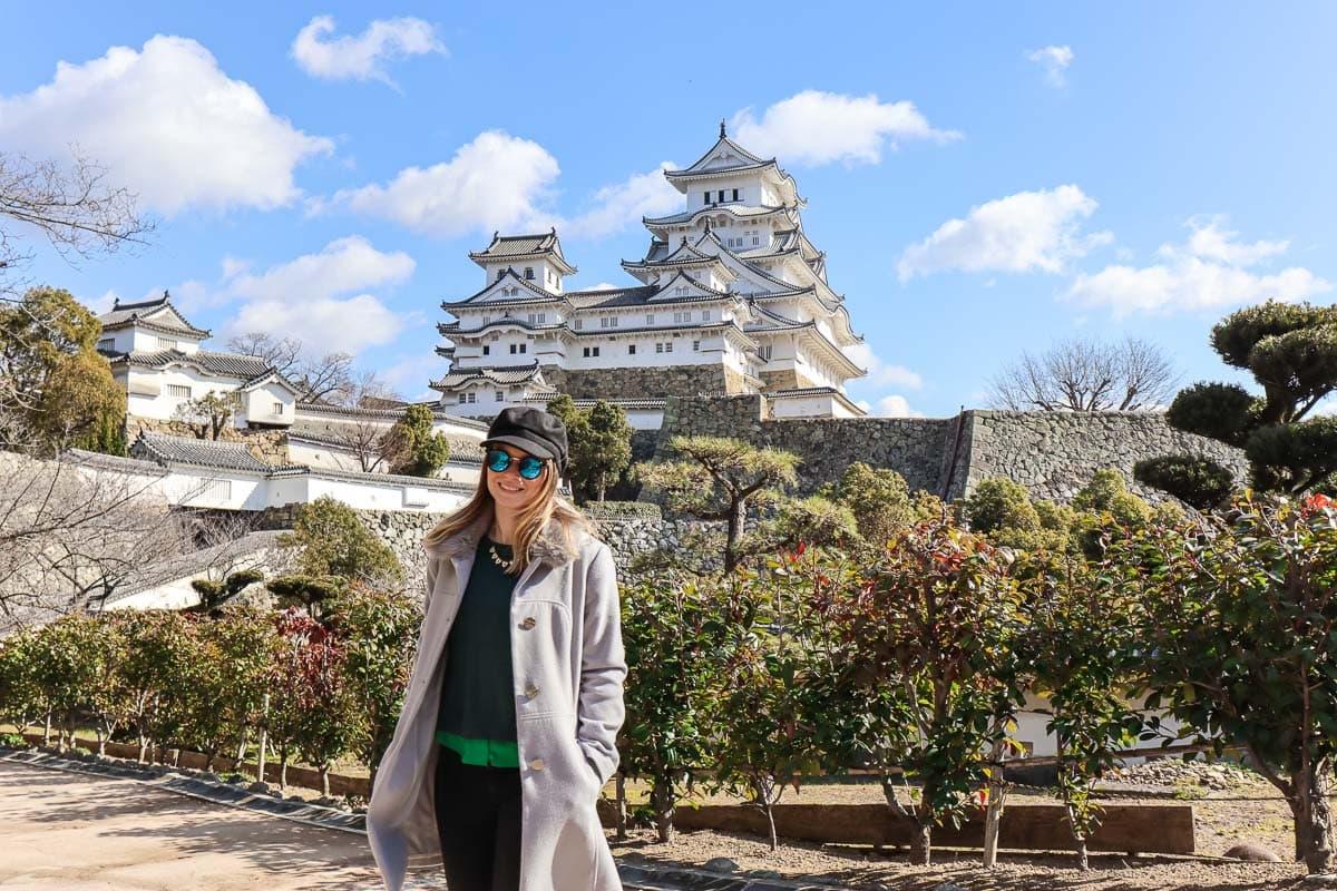 Exploring Himeji Castle, Japan