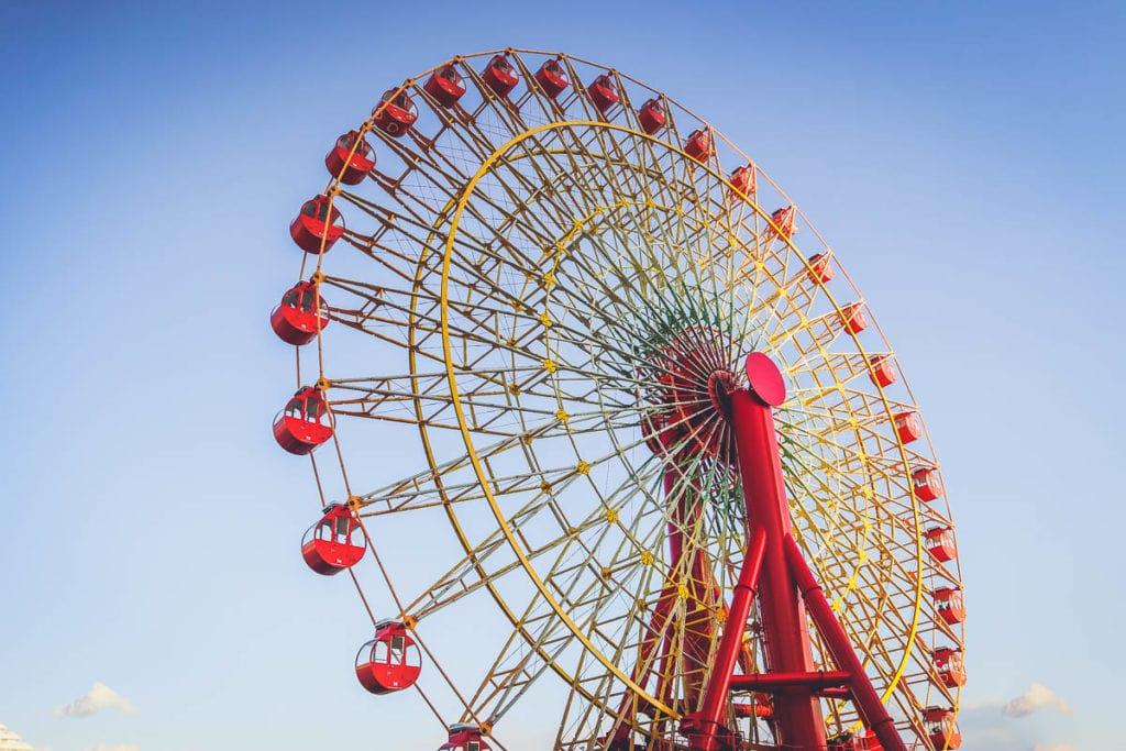 Kobe ferris wheel, Japan