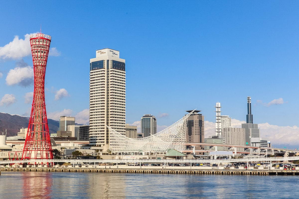 View of Kobe, Japan