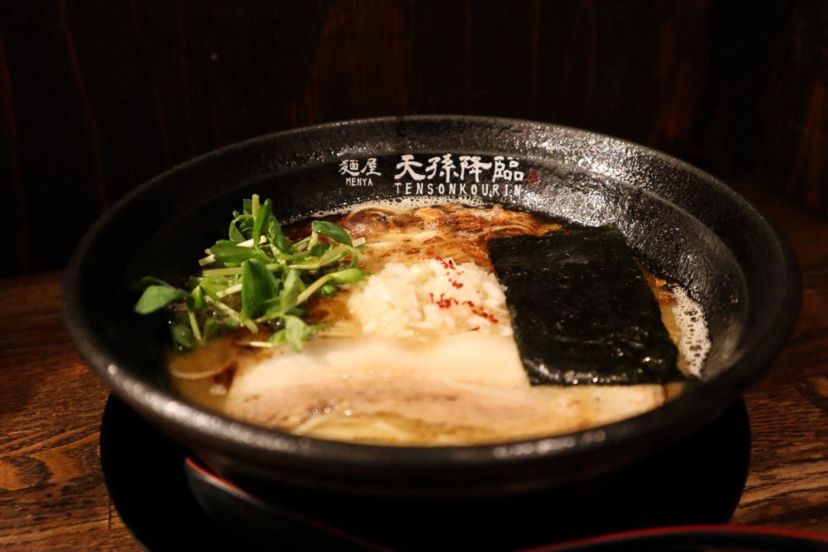 Ramen at Tensonkourin, Kobe