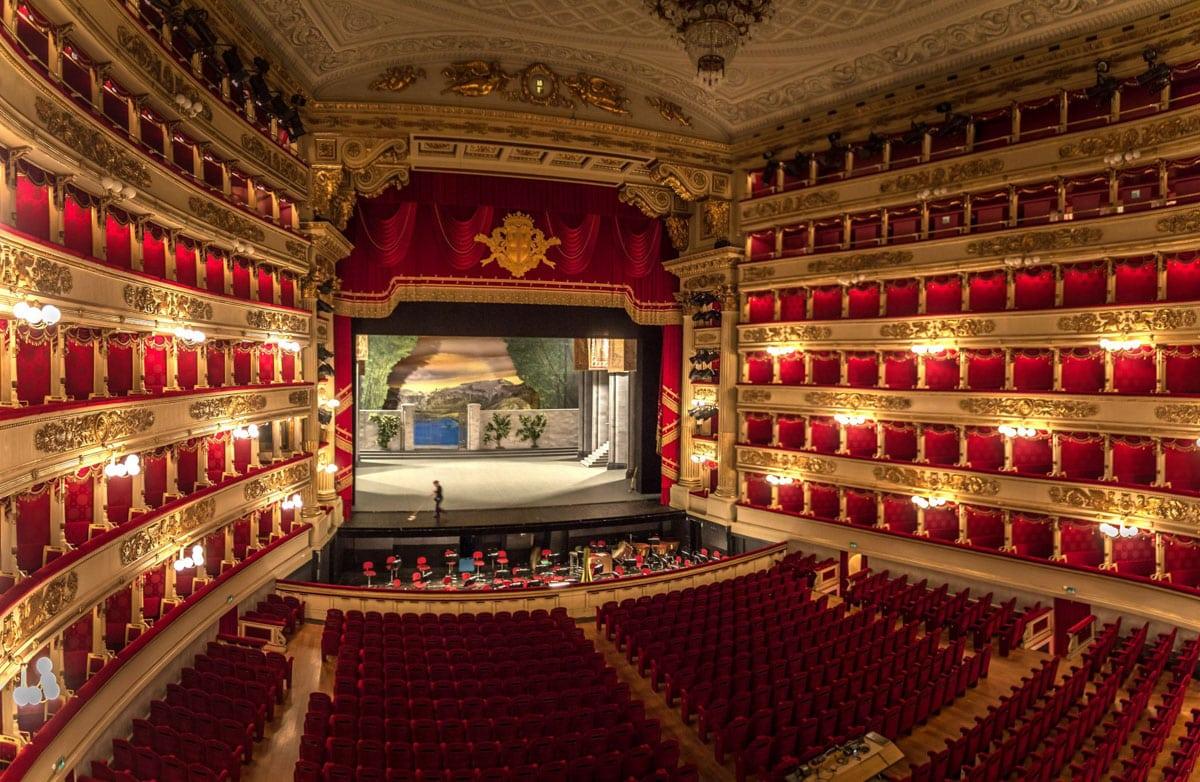 La Scala, Milan's famous opera house