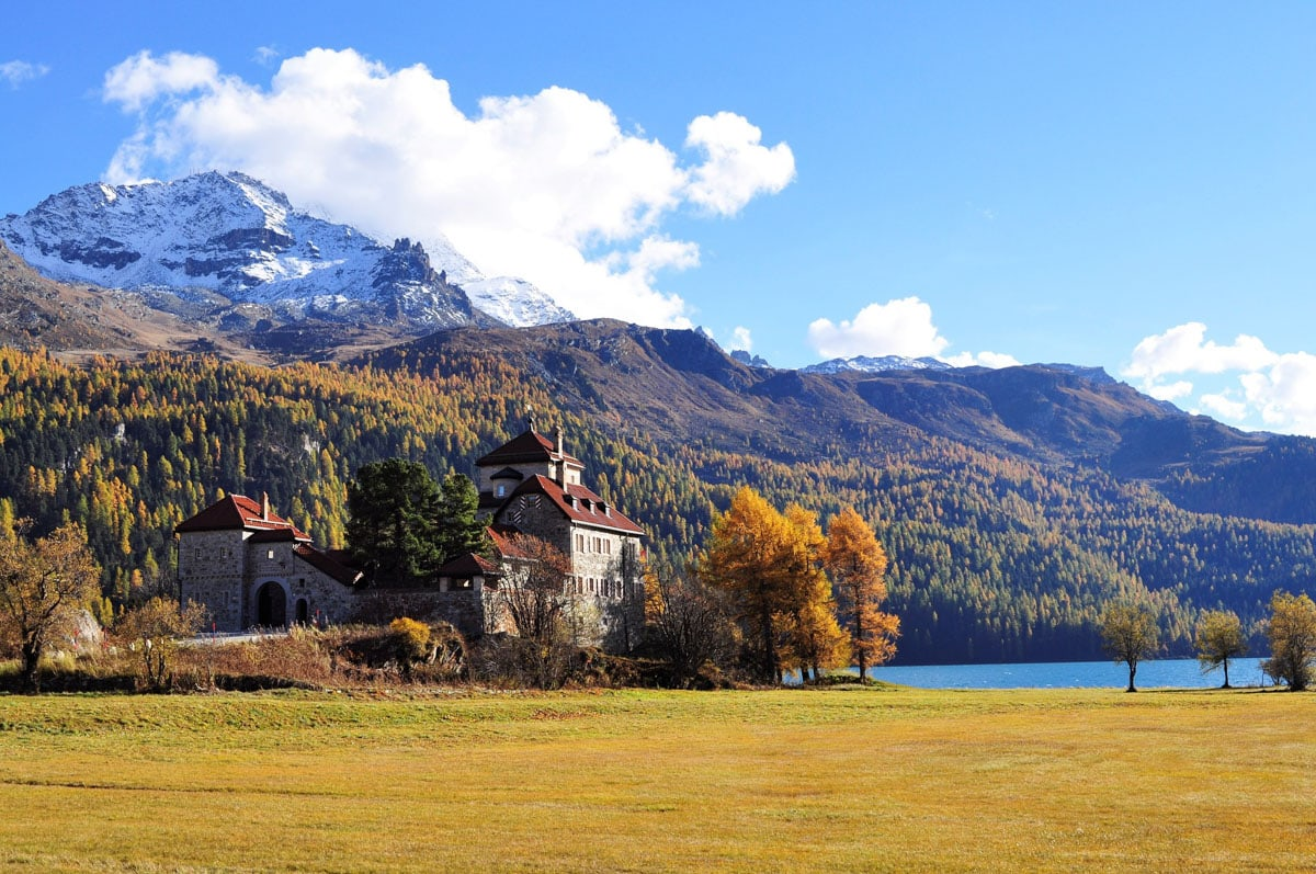 Take a day trip to St Moritz if you have longer in Milan