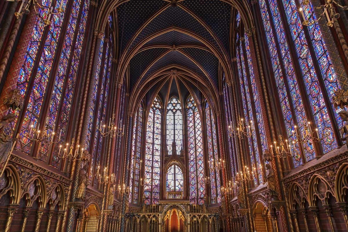 Sainte-Chapelle - a great place visit in Paris in winter