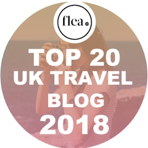 UK Top Travel Blog 2018