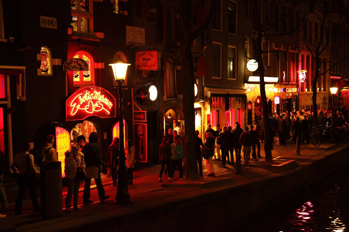 Red Light District - a must for your weekend in Amsterdam