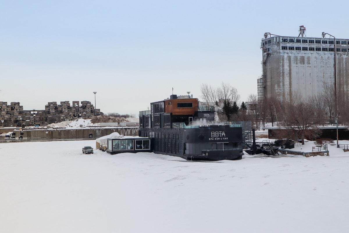 Bateau spa Bota Bota, Montréal