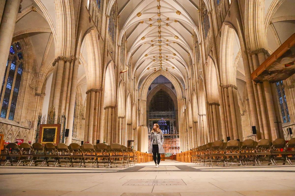 Exploring York Minster