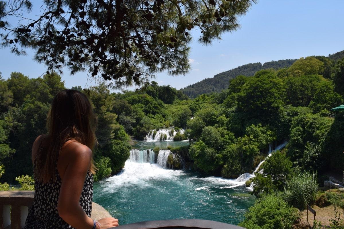 Enjoying the view at Krka National Park, Croatia
