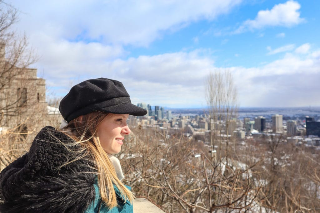 Mount Royal viewpoint