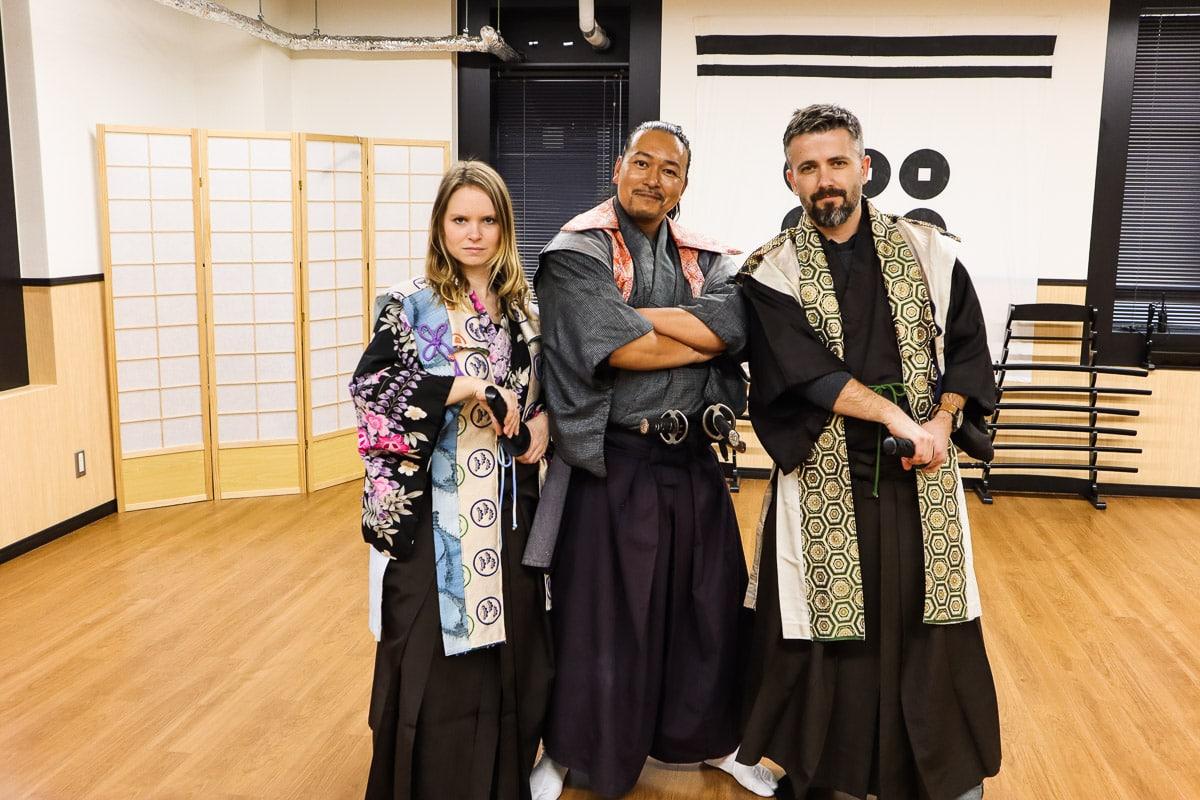Osaka Samurai Experience -1