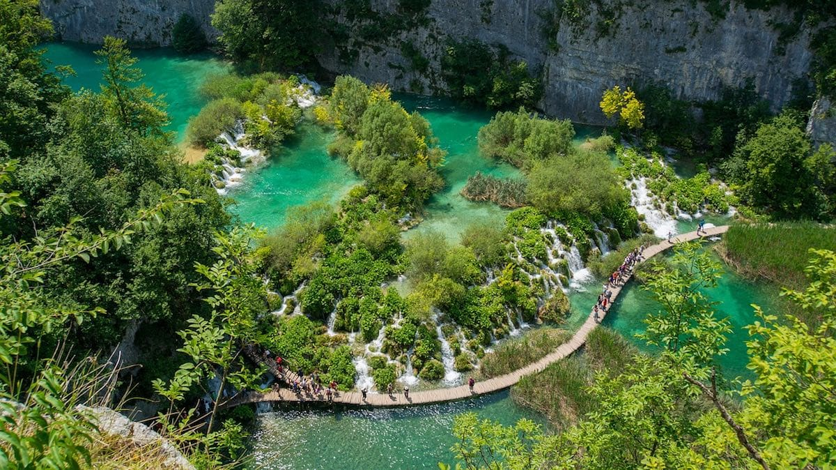 Day trip from Split to Plitvice Lakes, Croatia