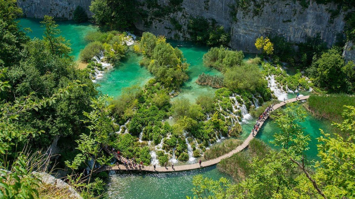 Day trip from Split to Plitvice Lakes, Croatia