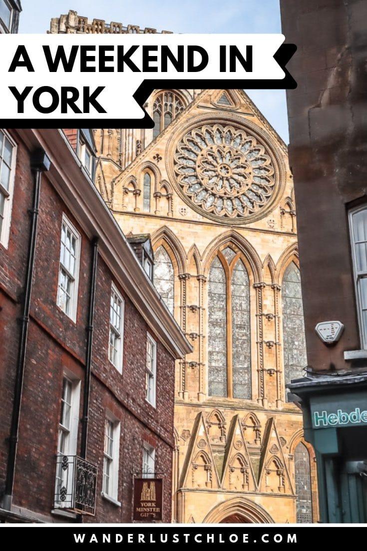A Weekend in York