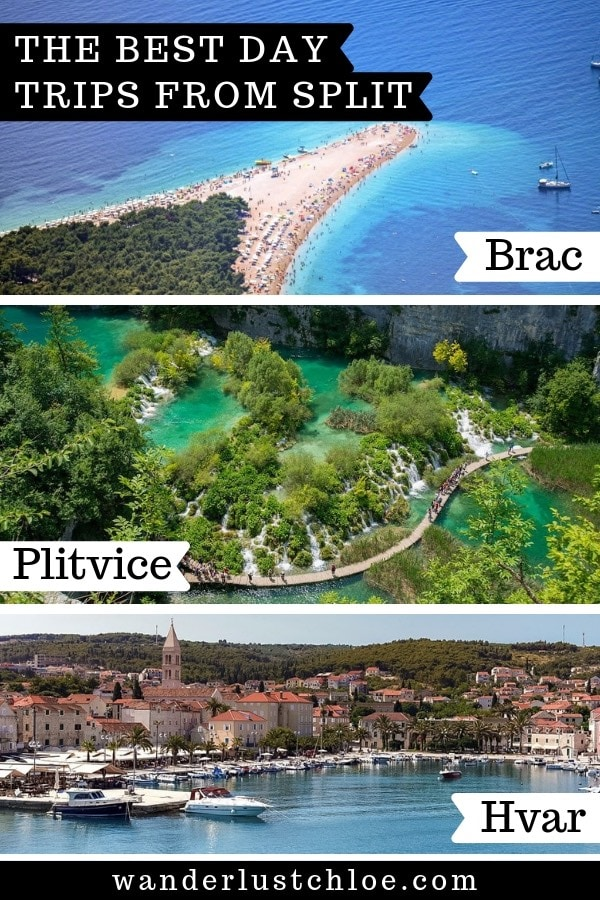 Day trips from Split, Croatia