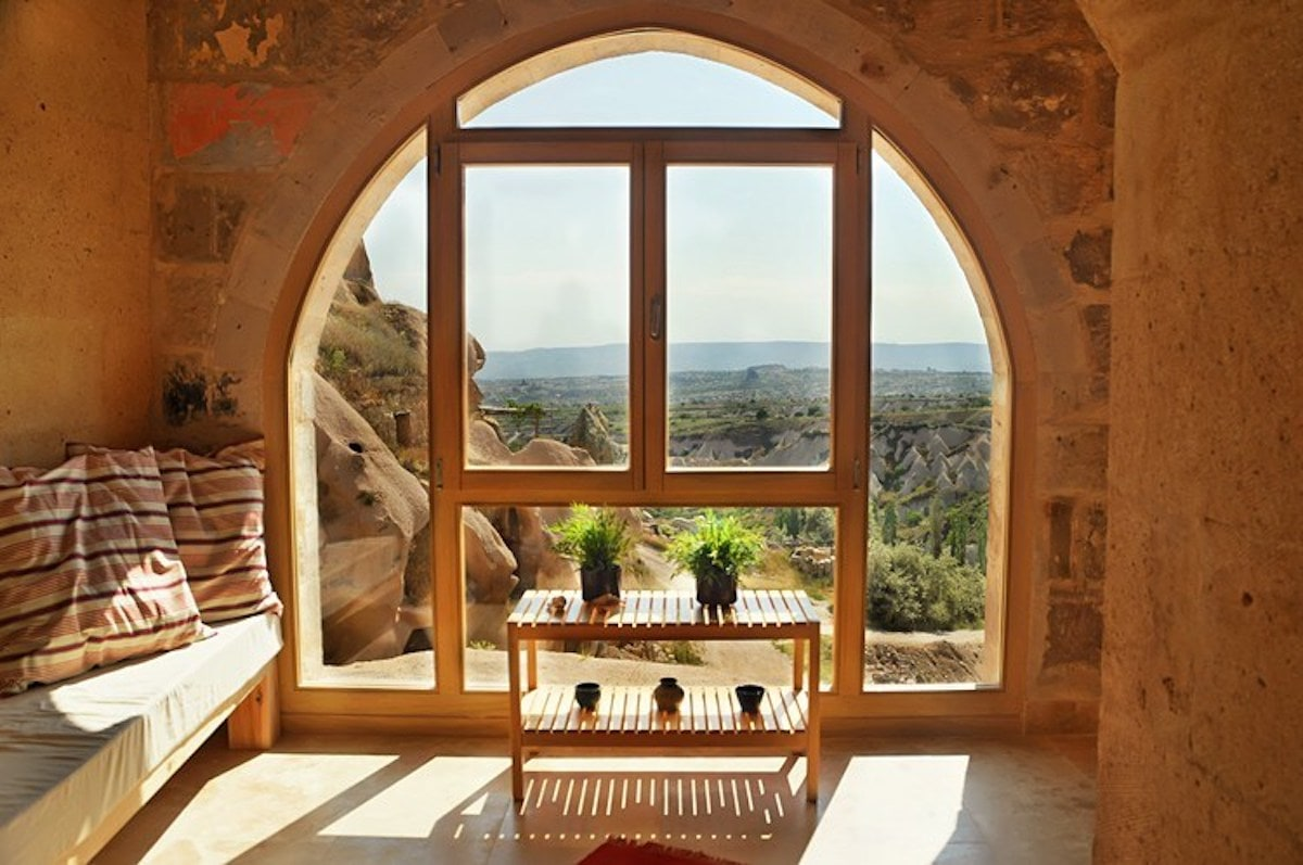 Art Residence Cappadocia window