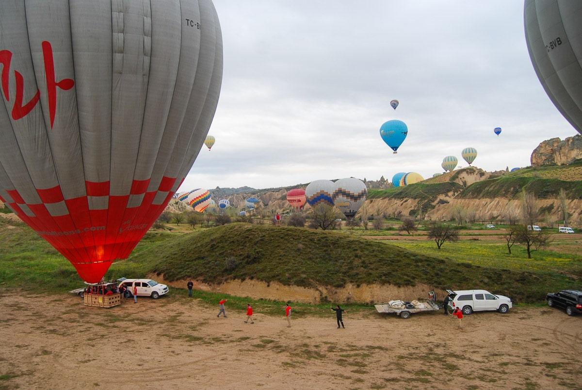 Take off - Cappadocia hot air balloon tour