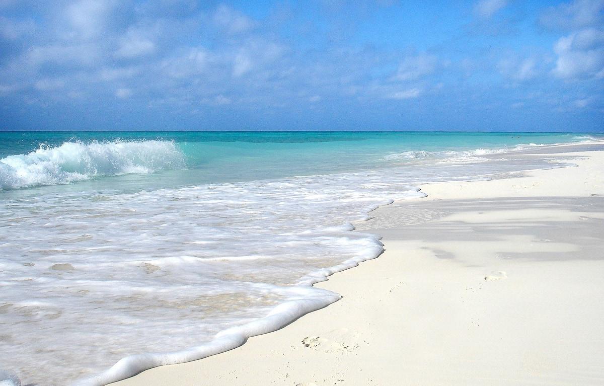 Paradise beaches in Varadero, Cuba