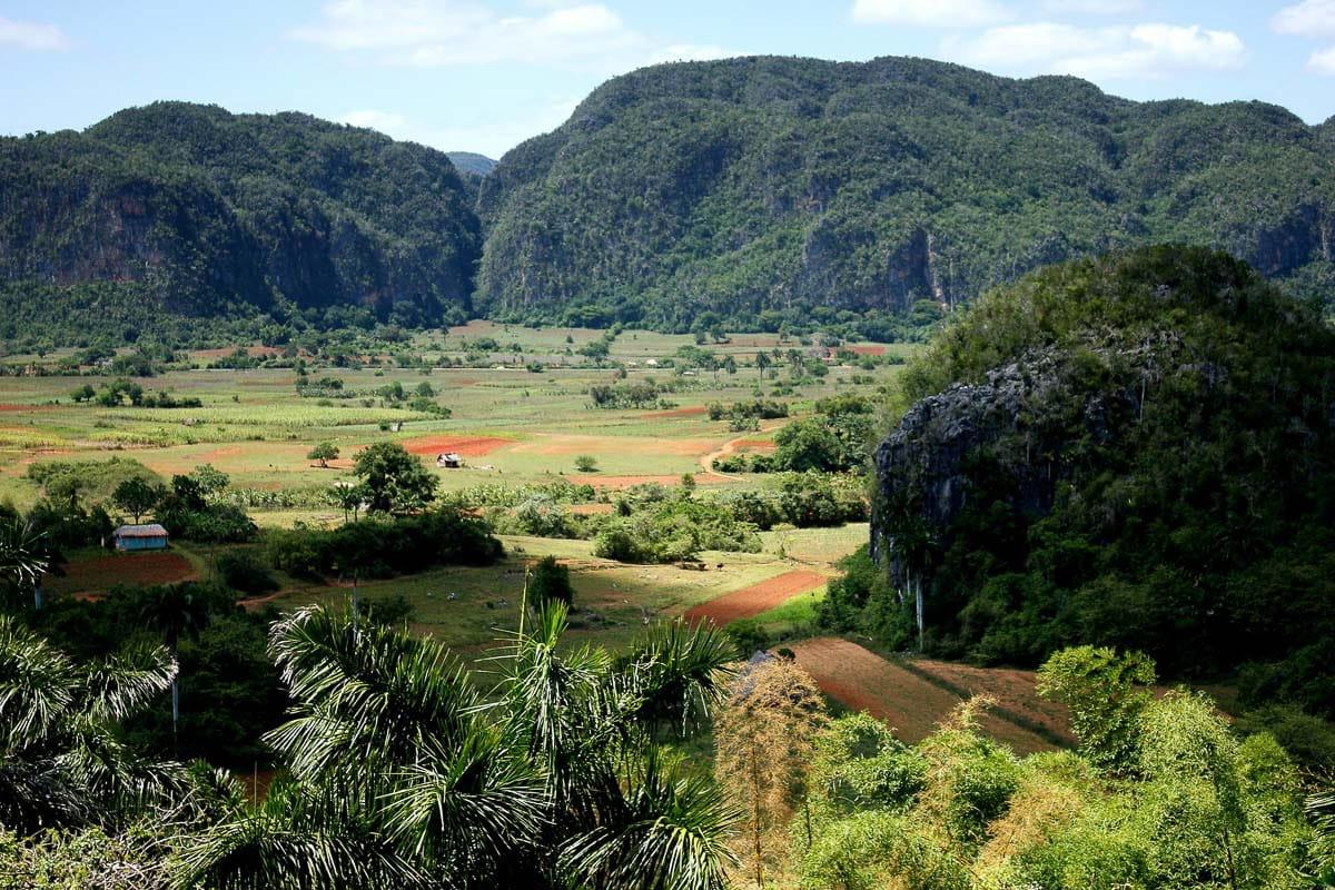 Lush views in Vinales, Cuba