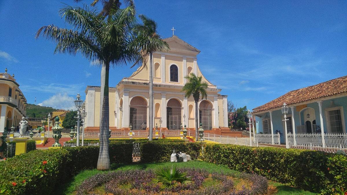 La Santisima - church in Trinidad, Cuba