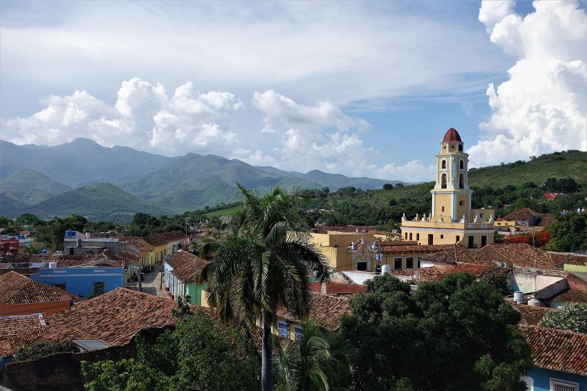 Mountain views in Trinidad, Cuba