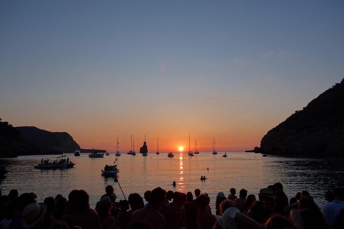 Cala Benirràs at Sunset, Ibiza