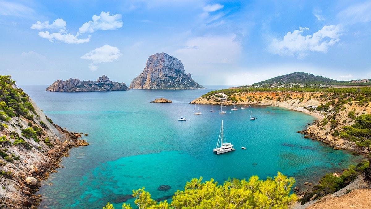 Beautiful beaches in Ibiza