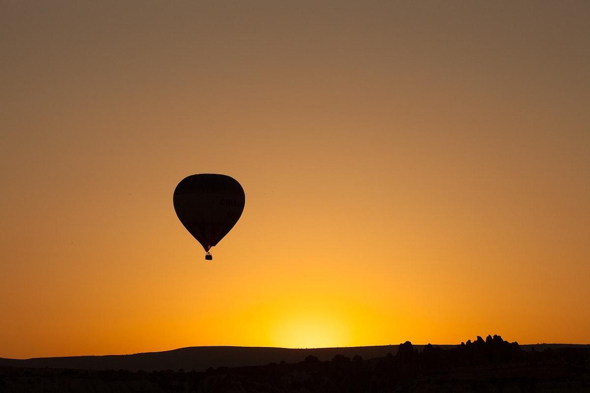 Sunrise hot air balloon trip in Ibiza
