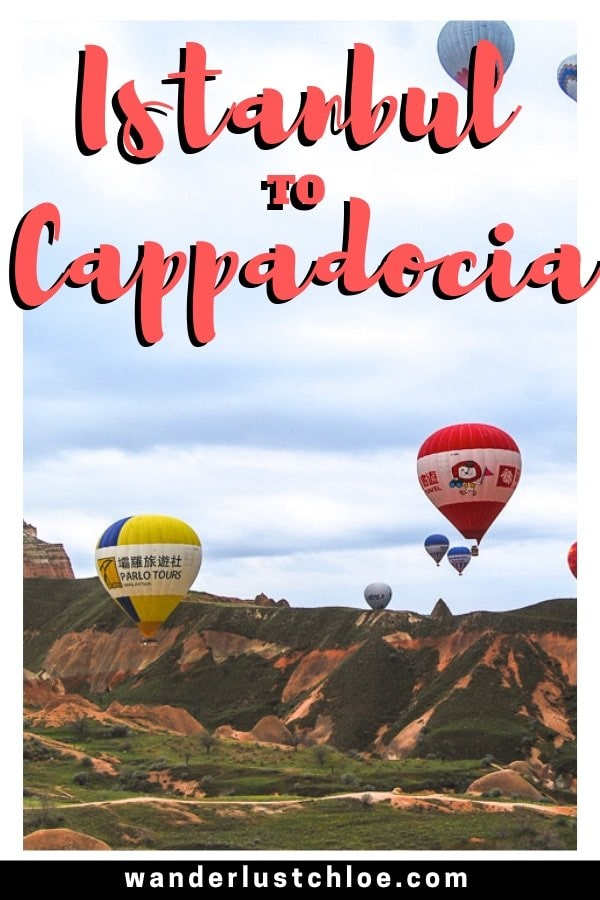 Travelling From Istanbul To Cappadocia