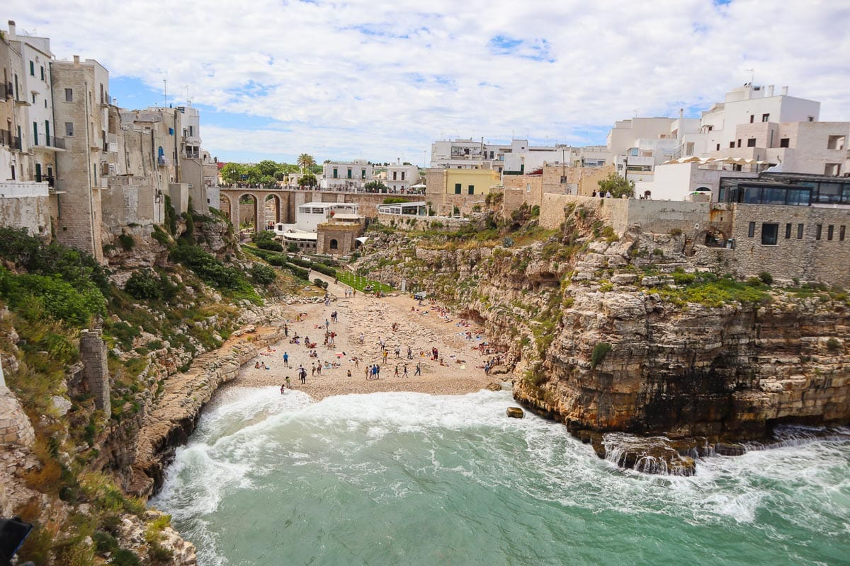 Polignano a Mare - a must see on your Italy road trip