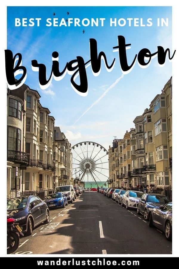 The Best Brighton Seafront Hotels