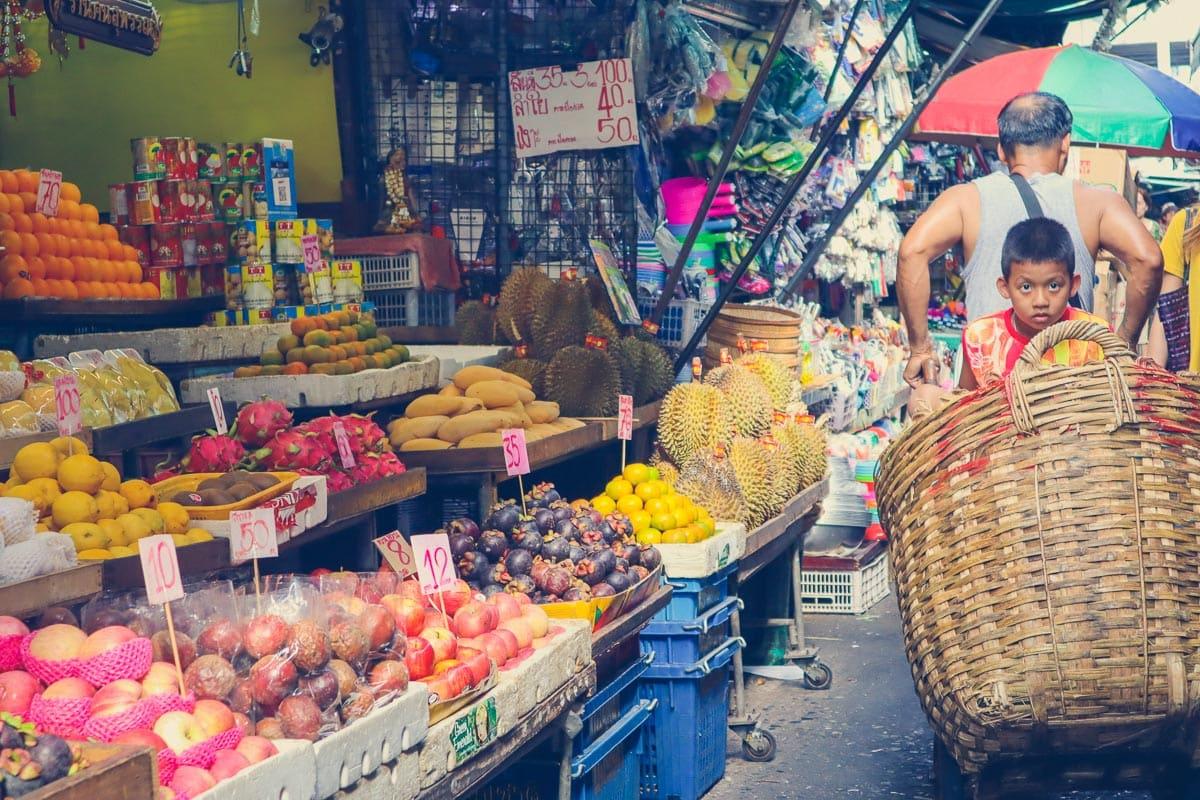 Klong Toey Wet Market, Bangkok