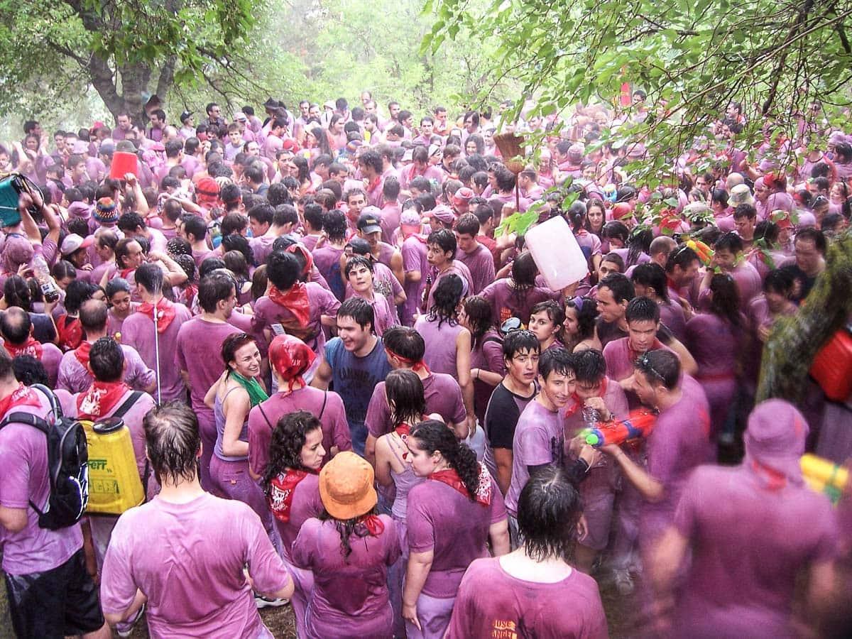 Haro Wine Festival, La Rioja, Spain