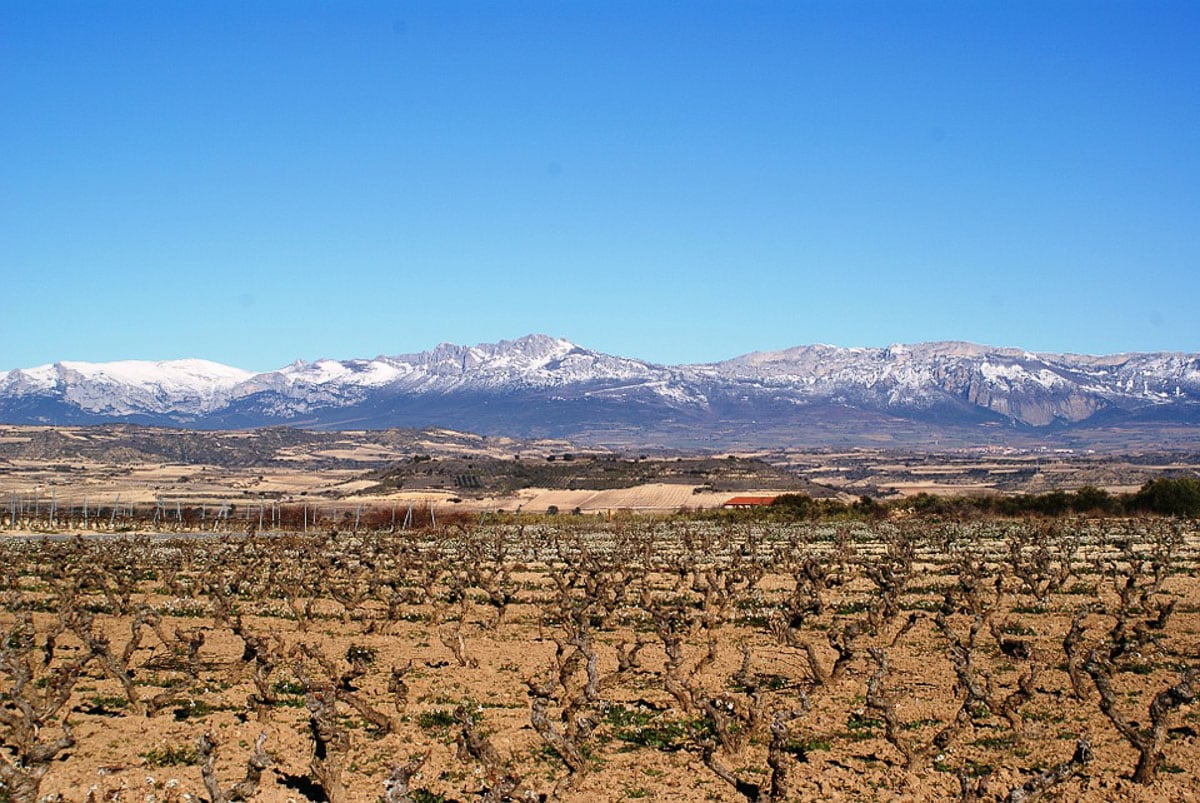 Beautiful views in La Rioja, Spain