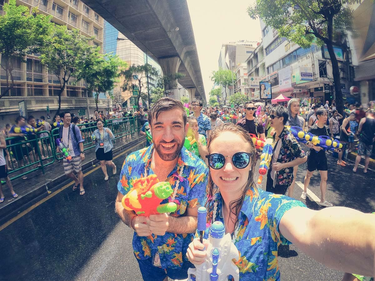 Celebrating Songkran 2019, Bangkok
