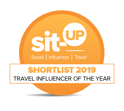 sit-UP Awards - Travel Influencer of the Year