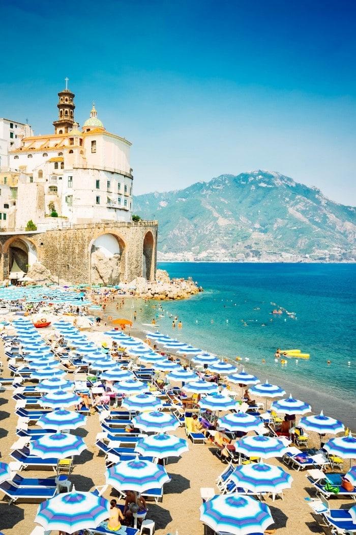 Amalfi Coast - a beautiful stop on a southern Italy road trip