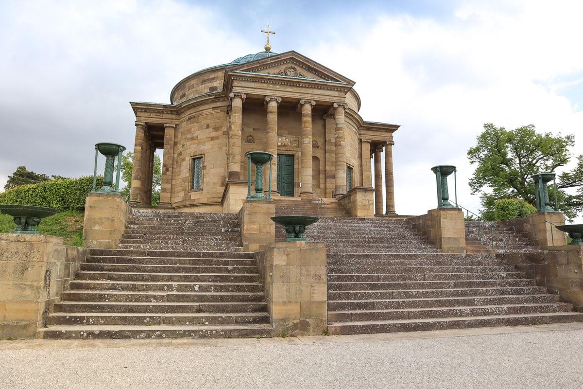 Chapelle sépulcrale sur la colline du Wurtemberg, Stuttgart