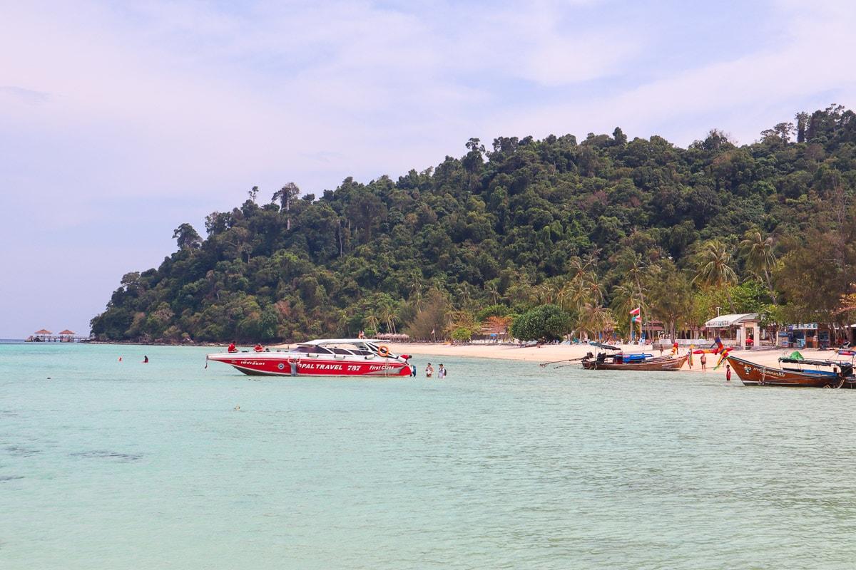 Paradise beaches on our four island tour from Koh Lanta