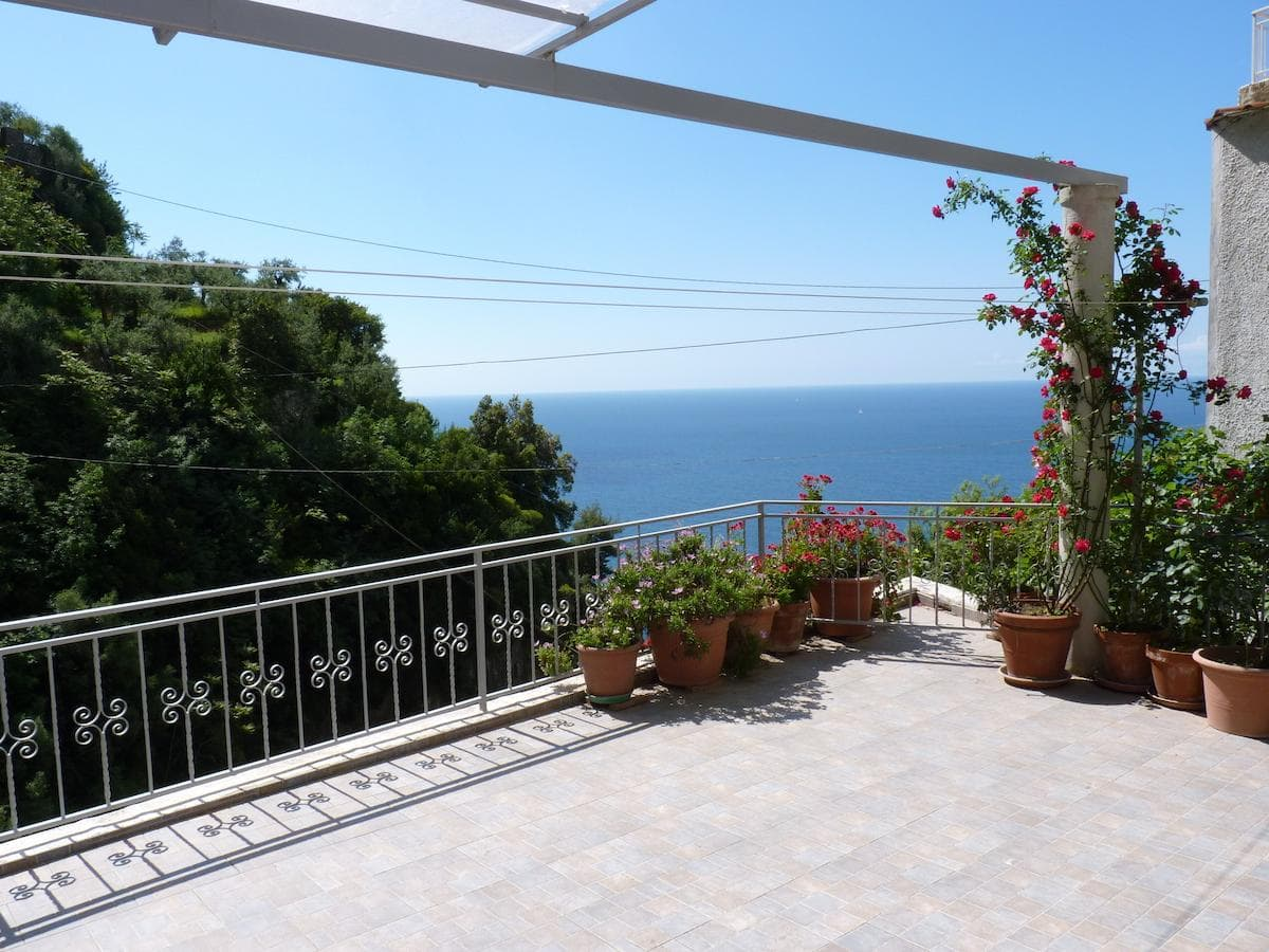 Terrace at Casa Fortunata, Positano